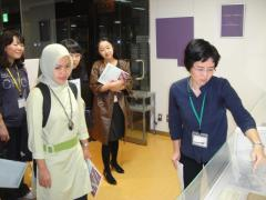 4. Visit to Women's Archives Center